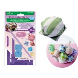 Clover Set complet pour puff quilting (petite taille) Clover