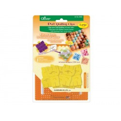 Clover Clips complémentaires pour puff quilting (grande taille)