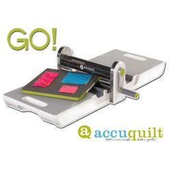 AccuQuilt GO! cutter fabric