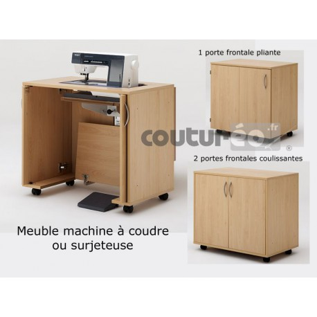 meuble de rangement 11 22 machine coudre ou surjeteuse rauschenberger coutureo. Black Bedroom Furniture Sets. Home Design Ideas