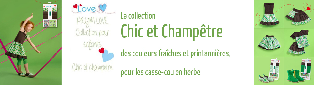 Prym love collection chic et champêtre