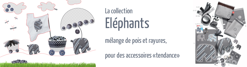 prym love collections éléphants
