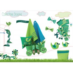 Prym Love - Collection Oiseau  - Vert