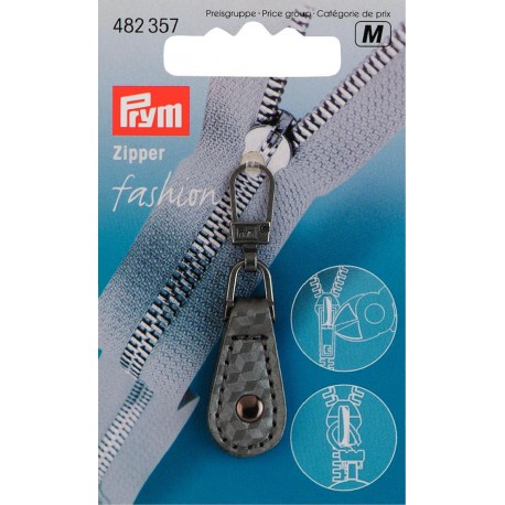 Tirette Fashion Zipper PRYM immitation cuir
