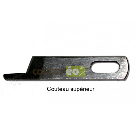 Couteau supérieur Pfaff Hobbylock 2.0, Huskylock S15