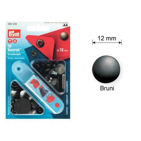"Pressions boutons ""ANORAK"" 12 mm PRYM"