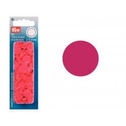 Boutons Pression Colors Snaps Prym 12,4 mm Framboise