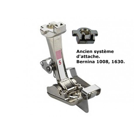Pied pour point invisible N°5 Bernina 1008, 1630