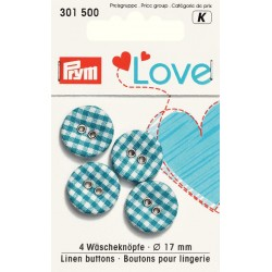 Prym Love - Collection Chouette - Bleu et Chocolat