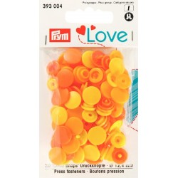 Prym Love - Collection Etoile - Jaune, orange et violet