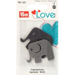 Prym Love - Collection Eléphant - Gris et noir