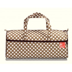 Sac à ouvrages tricot POLKA BEIGE