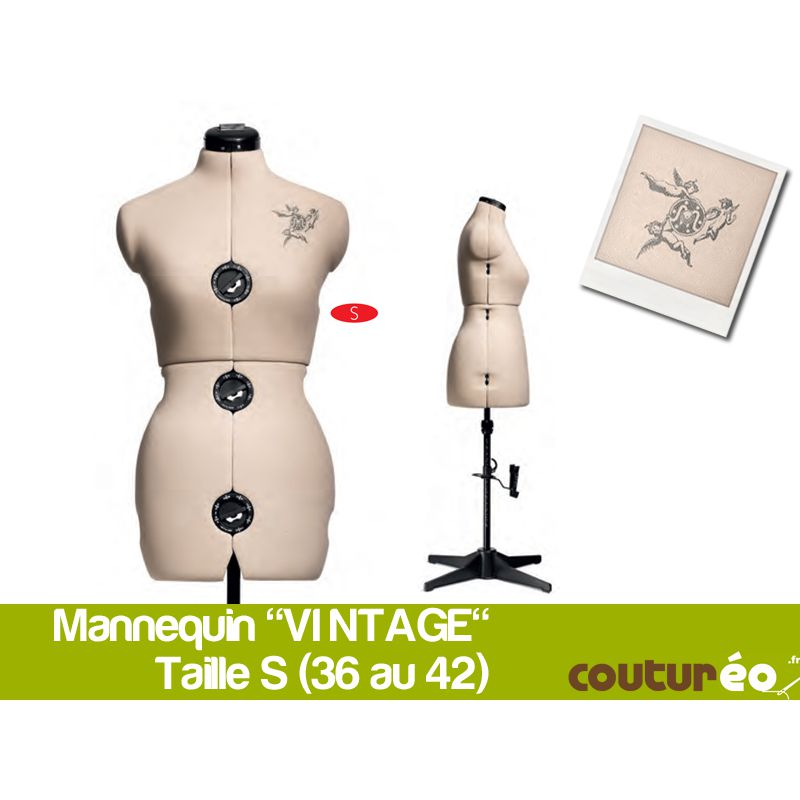 mannequin vintage de prym coutureo. Black Bedroom Furniture Sets. Home Design Ideas