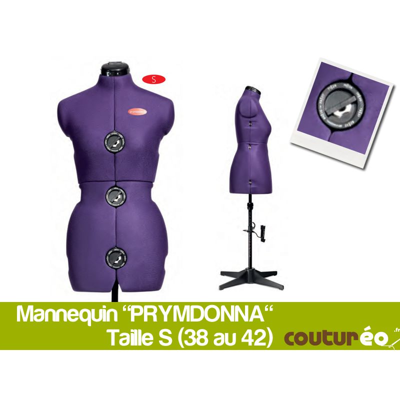 mannequin de couture prym prymadonna taille 36 42 s coutureo. Black Bedroom Furniture Sets. Home Design Ideas