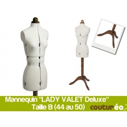 Mannequin de couture Lady Valet DELUXE B Taille 44/50