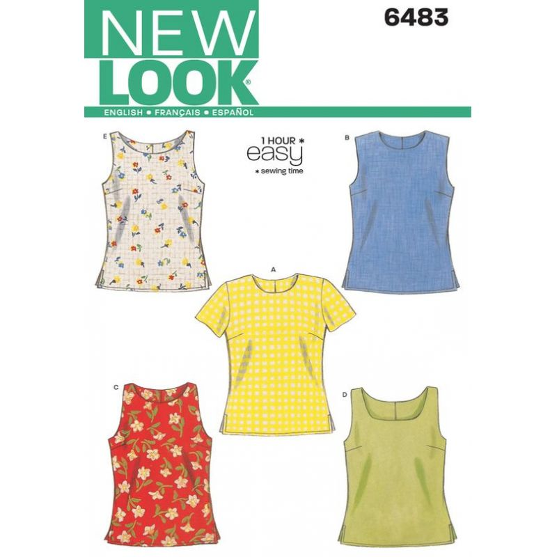 patron couture new look 6483