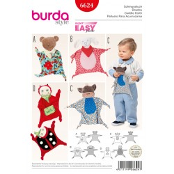 Patron BURDA 6624 T  unique : Doudou