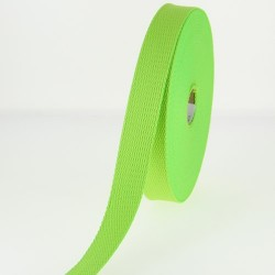 Sangle 23 mm COTON verte