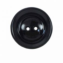 Bouton 25 mm rond manteau