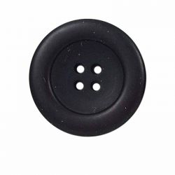 Bouton 25 mm rond rebord