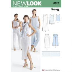 Patron NEW LOOK NL6517 T 38 – 50 : Ensemble