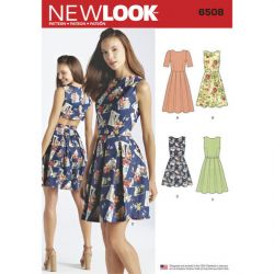 Patron NEW LOOK NL6508 T 38 – 50 : Robe