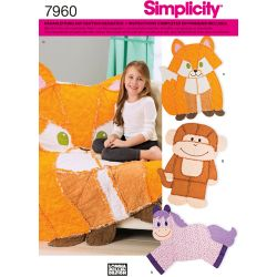 Patron Simplicity 7960.OS couverture animal