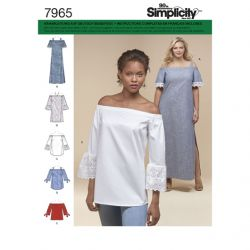 Patron SIMPLICITY S7965.BB T 48 à 56 : Robe / tunique
