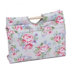Sac de tricot rectangulaire collection ROSES