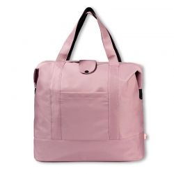 Sac à ouvrages collection  Store & Travel taille L rose