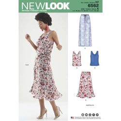 Patron New Look 6562 Ensemble  - Taille : 38 à 50