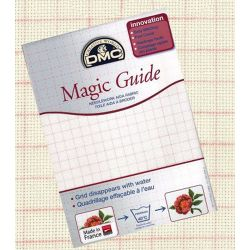 Toile Aïda Magic Guide, 7 points/cm, 50 x 75 cm pour Punch Needle