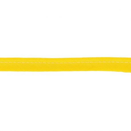 Passepoil poly-coton 10 mm, Jaune