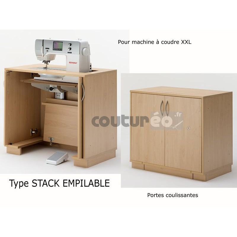 meuble n 11 22 machine coudre ou surjeteuse rauschenberger coutureo. Black Bedroom Furniture Sets. Home Design Ideas
