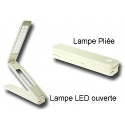 Lampe LED PRYM pliable