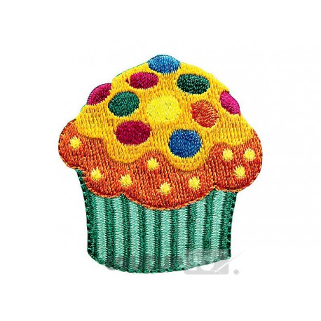 Ecusson CUPCAKE PRYM multi couleurs