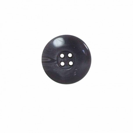 bouton rond incurve a  bord large a 4 trous
