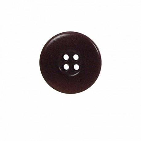 bouton rond a bord large 4 trous