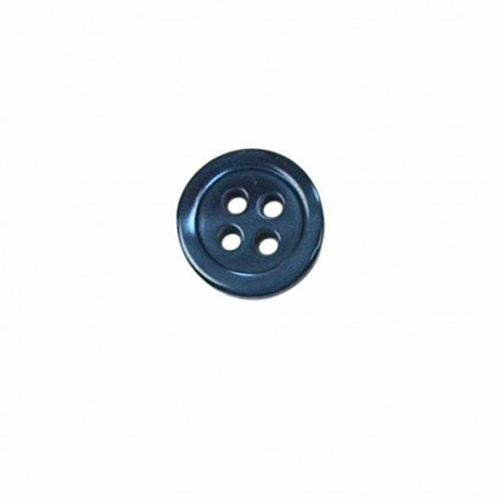 bouton rond bord fin 4 trous