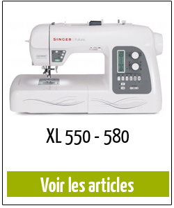 machine à coudre singer XL 550 580